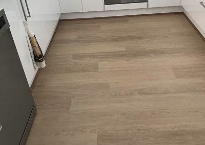 Laminate Clix Oak White Varnished