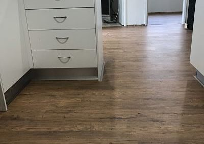 Laminate Clix Rustic Oak Brushed Kitchen Renovated